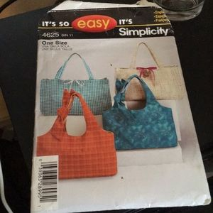 It's so easy tote and shoulder bag